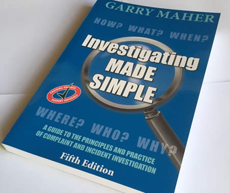 Investigating Made Simple - the book - 5th edition