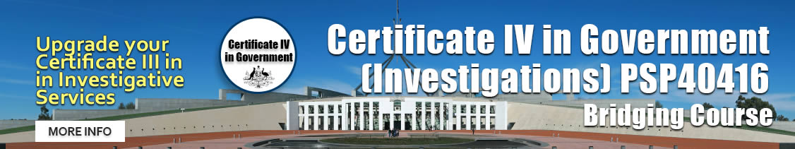 Certificate 4 in Government course Sydney December 2017